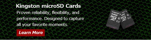 Kingston SD Cards