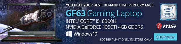MSI GF63 15.6
