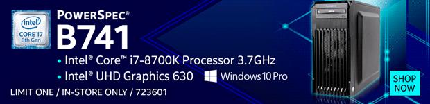 PowerSpec B741 Desktop Computer