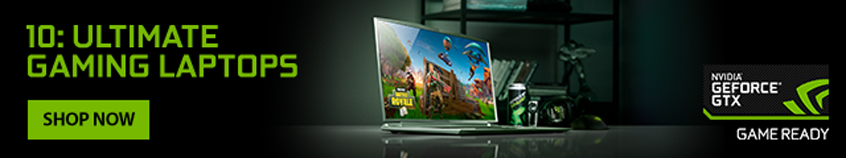 10: Ultimate Gaming Laptops: NVIDIA GeForce GTX Game Ready - Shop Now