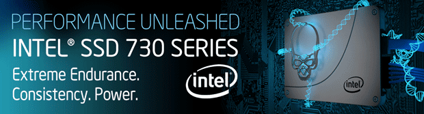 Performance Unleashed! Intel SSD 730 Series!