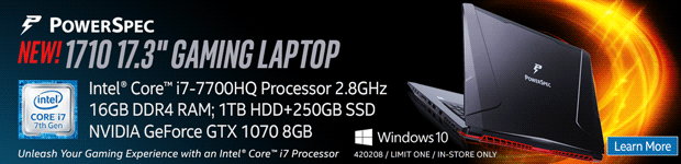 PowerSpec 1710 17.3