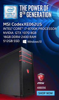 MSI CodexXE062US Gaming Computer