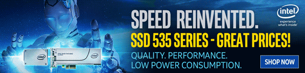 Speed Reinvented. Intel SSD 535 Series.