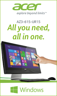 The Acer Aspire AZ3-615-UR15