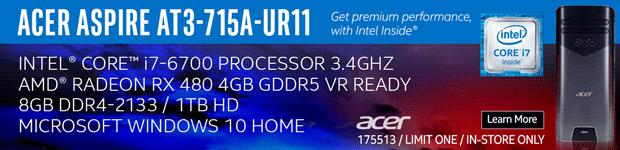 Acer Aspire AT3-715A-UR11 Desktop Computer