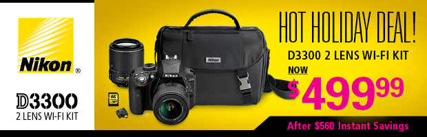 Nikon D3300 DSLR Kit