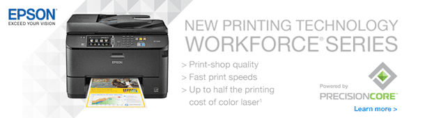 Epson - New Printing Technology. The WORKFORCE Series