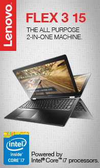 "Lenovo Flex 3 15.6"" 2-in-1 Laptop"