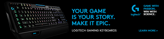 Your Game is Your Story. Make it Epic. Logitech Gaming Keyboards.
