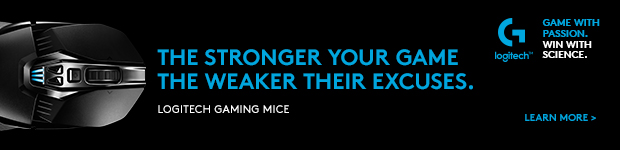 The Stronger Your Game, the Weaker Their Excuses. Logitech Gaming Mice.
