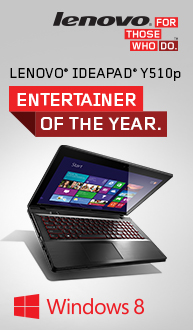 IdeaPad Y510p! Entertainer of the Year!