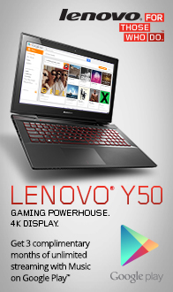 LENOVO Y50 GAMING POWERHOUSE!