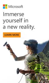 Immerse yourself in a new reality. Microsoft Mixed Reality