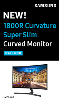 """Samsung LC27F591 27"""" Curved 1080p HD LED Monitor"""