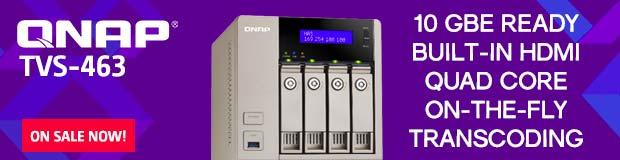 QNAP TVS-463 Series NAS