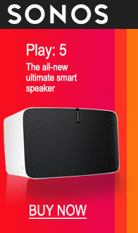 SONOS. Play:5 - Ultimate smart speaker.
