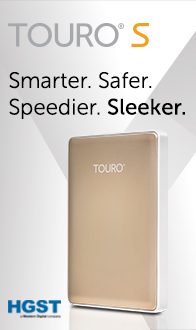 TOURO S! Smarter. Safer. Speedier. Sleeker.