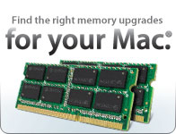 Find the right memory upgrades for your Mac