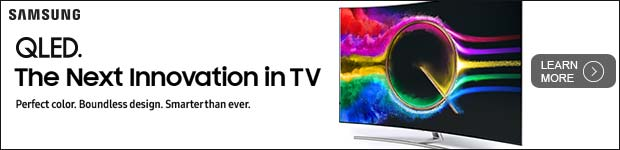 Samsung QLED. The next innovation in TV.