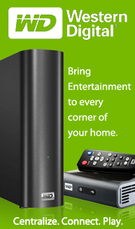 Western Digital: Bring entertainment to every corner of your home
