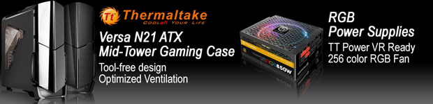 Thermaltake Computer Cases and Power Supplies