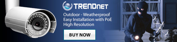 TRENDnet POE High Resolution Security Cameras