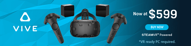 HTC VIVE now at $599.99
