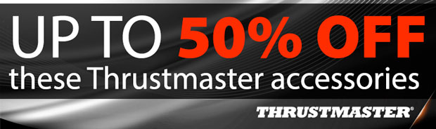 Up to 50% OFF these Thrustmaster Accessories