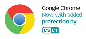 Google Chrome Now with added protection by ESET
