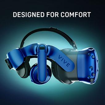 Vive Pro Designed For Comfort