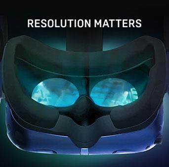 Vive Pro Resolution Matters