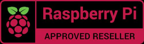 Raspberry Pi Authorized Reseller Logo