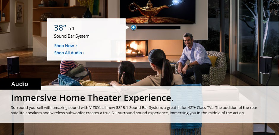 Audio - Immersive Home Theater Experience
