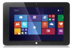 WinBook tablet display