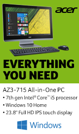 Acer Aspire AZ3-715. Everything you need.