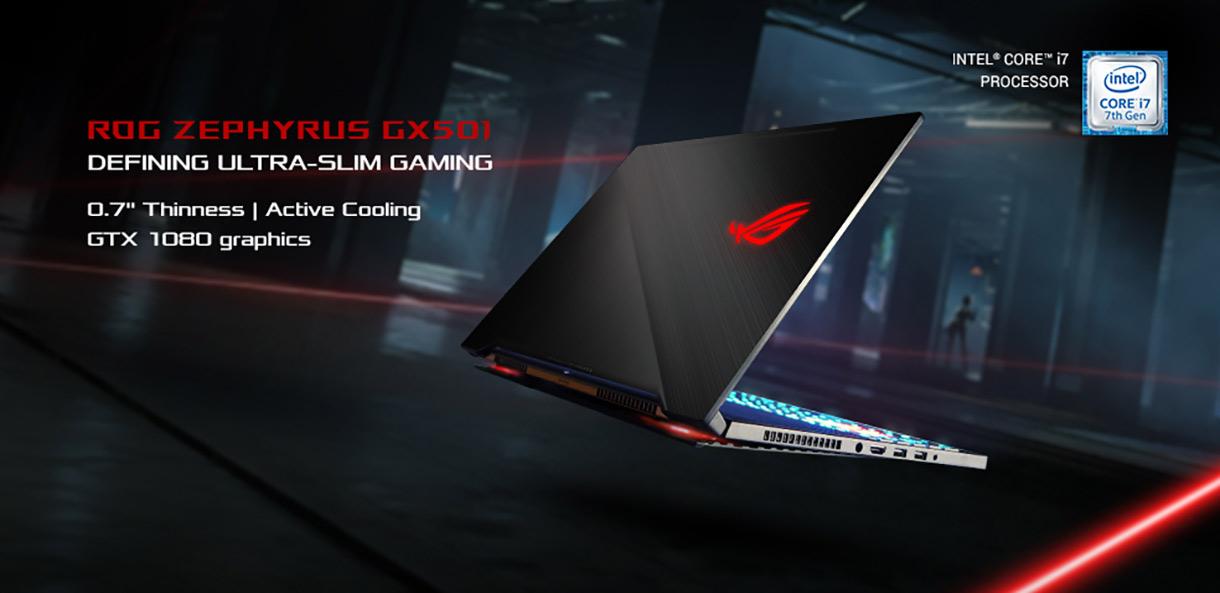 ASUS ROG Zephyrus GX501 - Defining Ultra-Slim Gaming