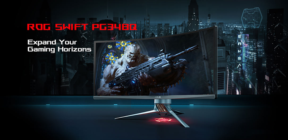 ASUS ROG Swift PG348Q - Expand Your Gaming Horizons