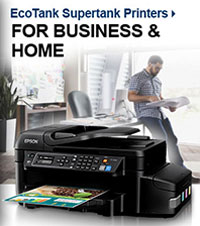 EcoTank Supertank Printers - For Business & Home