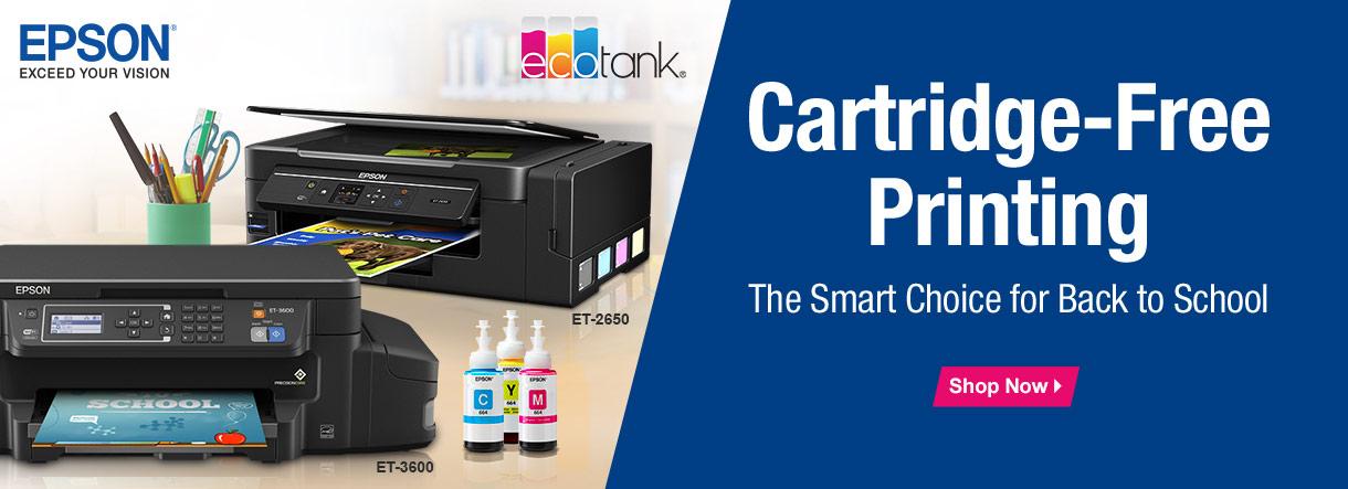 Cartridge-Free Printing with the Epson EcoTank
