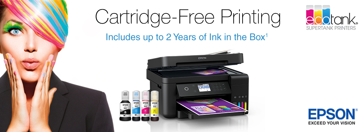 Cartridge-Free Printing with the Epson EcoTank