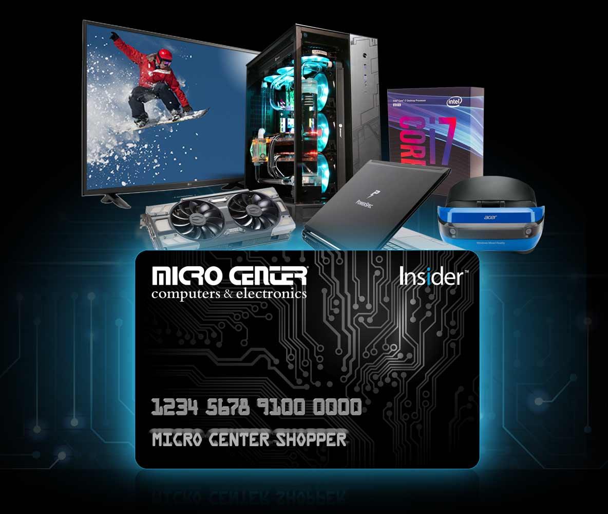 micro center credit card