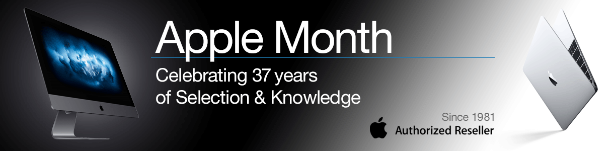 Apple Month. Celebrating 37 years of Selection & Knowledge