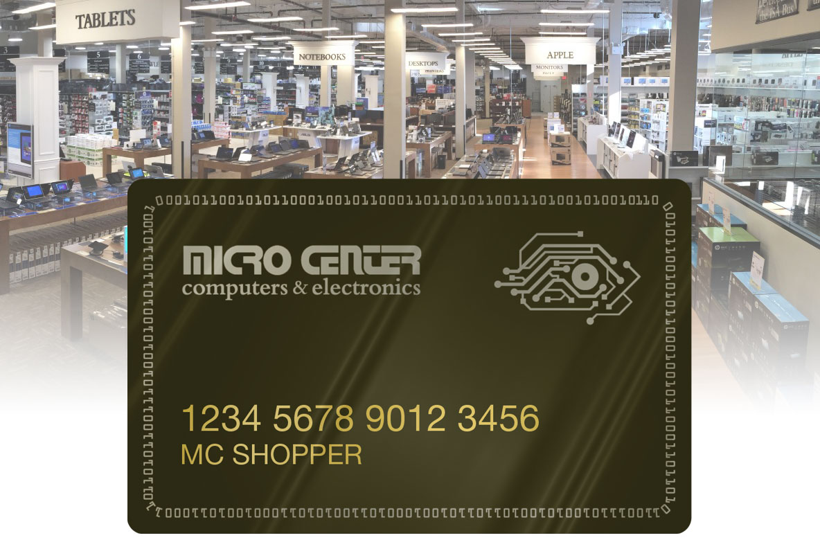 Micro Center Credit Card Image