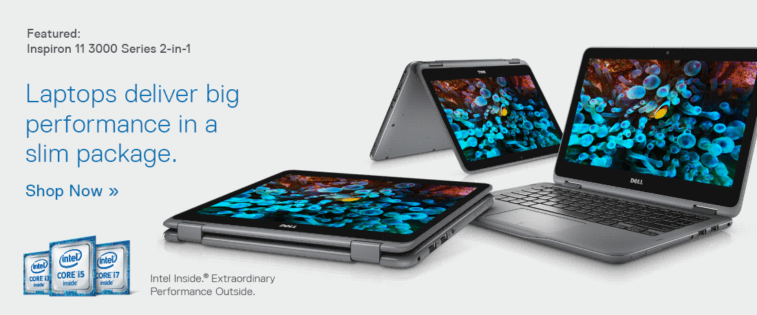 Laptops deliver big performance in a slim package.