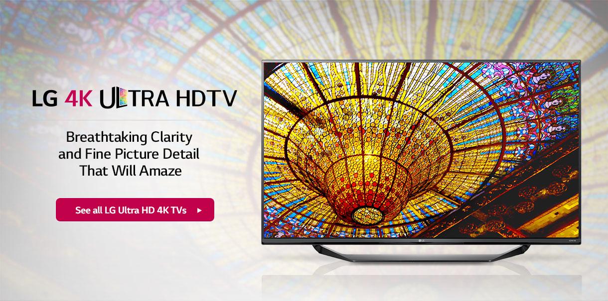 LG Ultra 4k HDTV