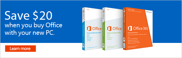 Microsoft Office 2013 for PC