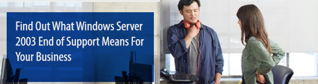 Microsoft Server 2003 End of Support