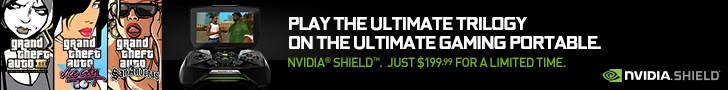 NVIDIA Shield Trilogy