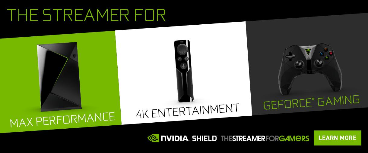 The Streamer NVIDIA Shield